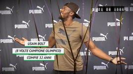21 agosto 2018 - Usain Bolt compie 32 anni
