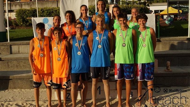 Beach Volley: Hanni-Schieder e Sambin-Azzolin Campioni d'Italia U.16