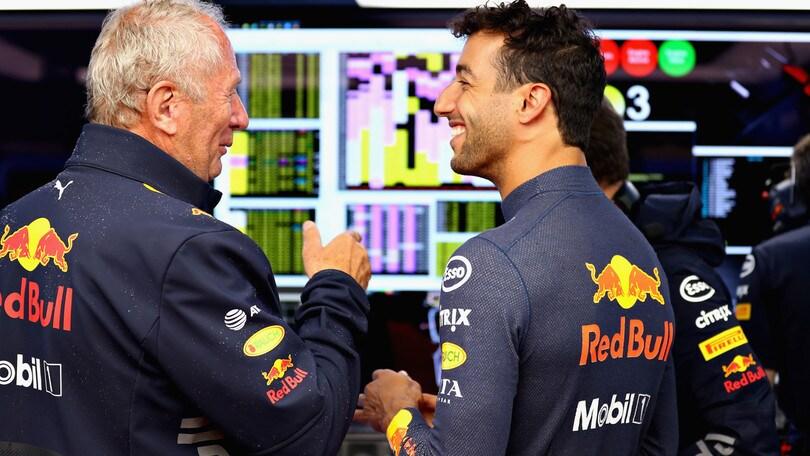 F1 Red Bull, Marko: «Decisione strana quella di Ricciardo»