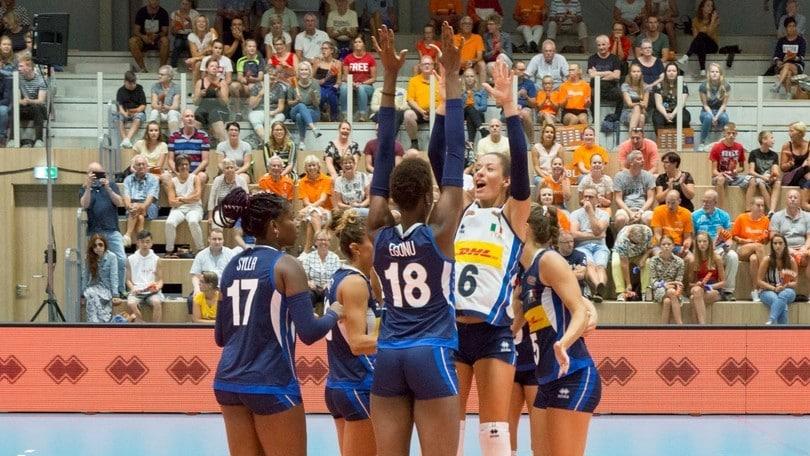 Volley: L'Italia femminile in Turchia per la Gloria Cup