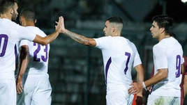 Arezzo-Fiorentina 1-2, in rete Eysseric e Veretout