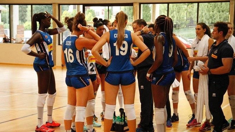 Volley: l'Under 19 Femminile batte l'Olanda in amichevole