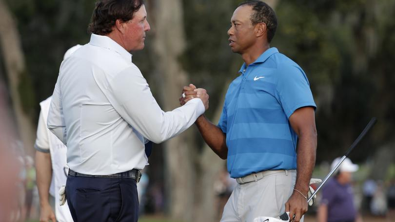 Match Woods-Mickelson il 23 novembre