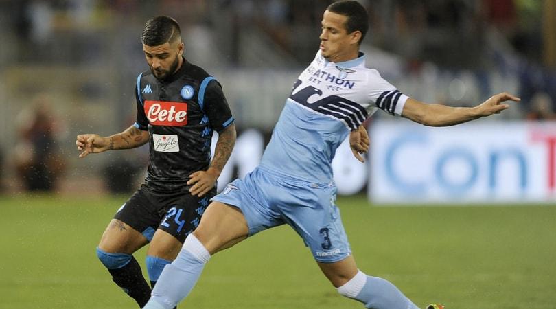 Lazio, lesione al polpaccio per Luiz Felipe