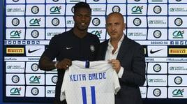 Inter, Keita ha scelto la numero 11