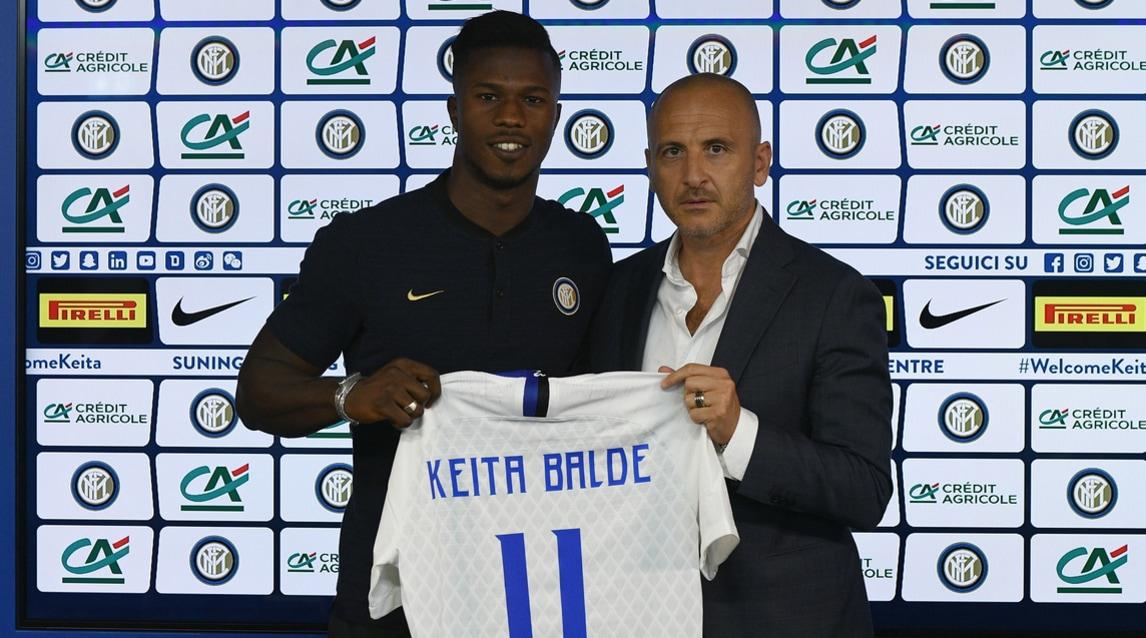 L'attaccante senegalese, che ha già debuttato contro il Sassuolo, si presenta in conferenza stampa