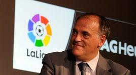 Nuovo attacco di Tebas all'Uefa. E cita ancora l'Inter