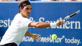 Us Open, Federer più forte della sfortuna: «Se sono in forma tutto è possibile»