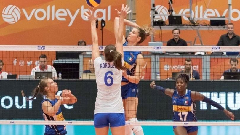 Volley: Gloria Cup, l'Italia di Mazzanti si arrende alla Russia