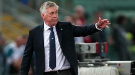 Ancelotti: «Spero di portare il Napoli sul gradino più alto del campionato»