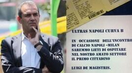 Napoli-Milan, i tifosi invitano il sindaco in curva