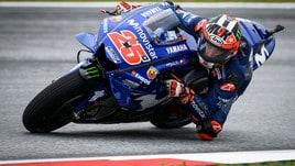MotoGp Silverstone, Libere 1: Viñales davanti, ma Rossi è 2°