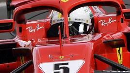 F1, la Ferrari corre in ricordo di Genova