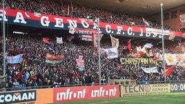 Serie A Genoa, crollo ponte: tifosi in silenzio per 43 minuti