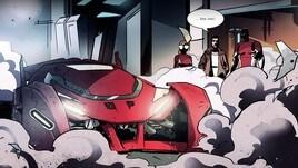 La Scuderia Ferrari debutta nel mondo del webcomic