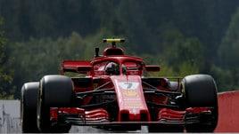 F1 Belgio, Libere 2: freccia Raikkonen, 5° Vettel