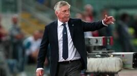 Napoli, Ancelotti: «Milan, concentrato di emozioni»