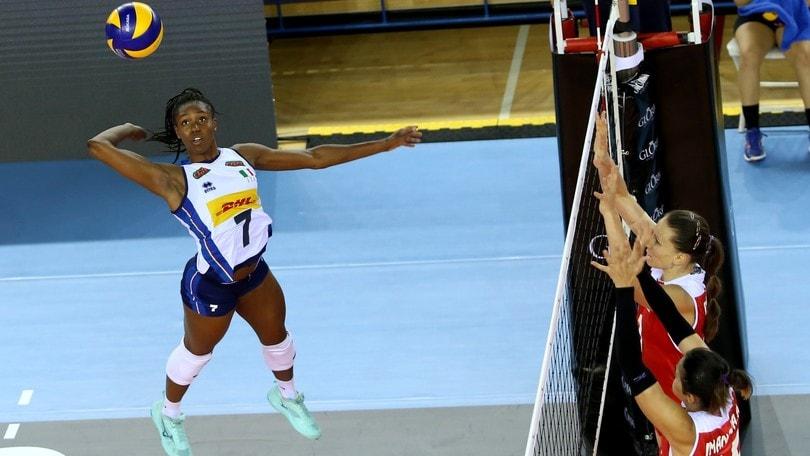 Volley: l'Italdonne cede anche all' Azerbaijan