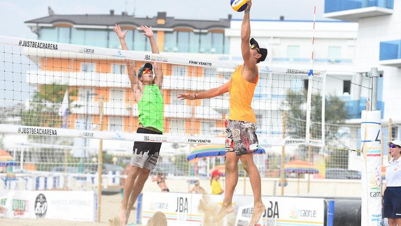Beach Volley: a Caorle, concluse le qualifiazioni da oggi le partite del main draw