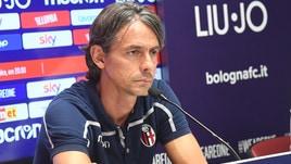 Serie A Bologna, Inzaghi: «Frosinone? Dobbiamo vincere»