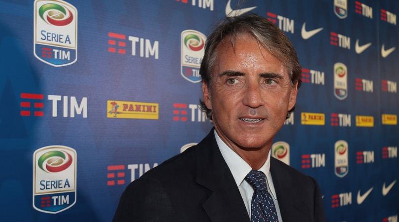Italia, Mancini: «Pochi italiani in campo, mancano i Baggio e i Totti»