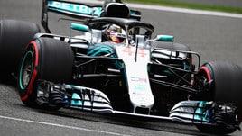 F1, griglia di partenza Gp Belgio: Hamilton in pole, poi Vettel