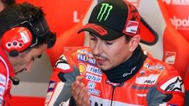 MotoGp Silverstone, Lorenzo: «Sono contento per la squadra»