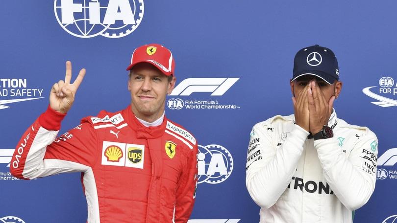 F1 Belgio, Hamilton in pole anche nelle quote