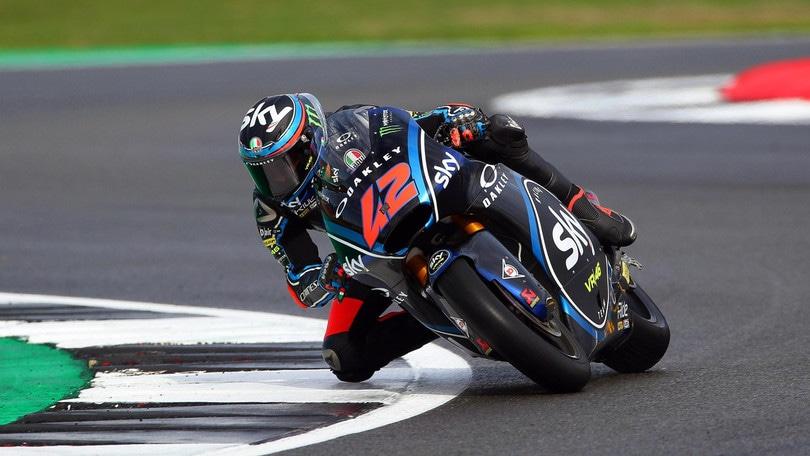 Moto2 Silverstone, Bagnaia è in pole! Oliveira solo 23°