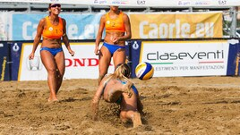 Beach Volley: a Caorle determinate le prime semifinaliste della Coppa Italia