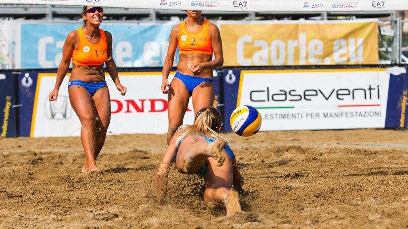 Beach Volley: a Caorle determinate le prime semifinaliste della Coppa Italia