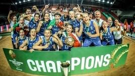 Europeo U16: Repubblica Ceca ko, Azzurre d'Oro