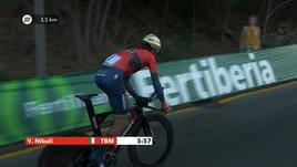 Vuelta, 1ª tappa - Dennis maglia rossa, De Marchi sesto