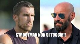Roma, i tifosi provano a bloccare Strootman: «Non te ne andare»