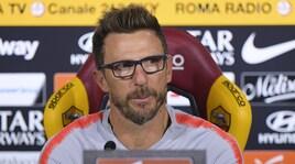 Roma, Di Francesco: «Strootman? C'è una trattativa, deciderò con lui se convocarlo»