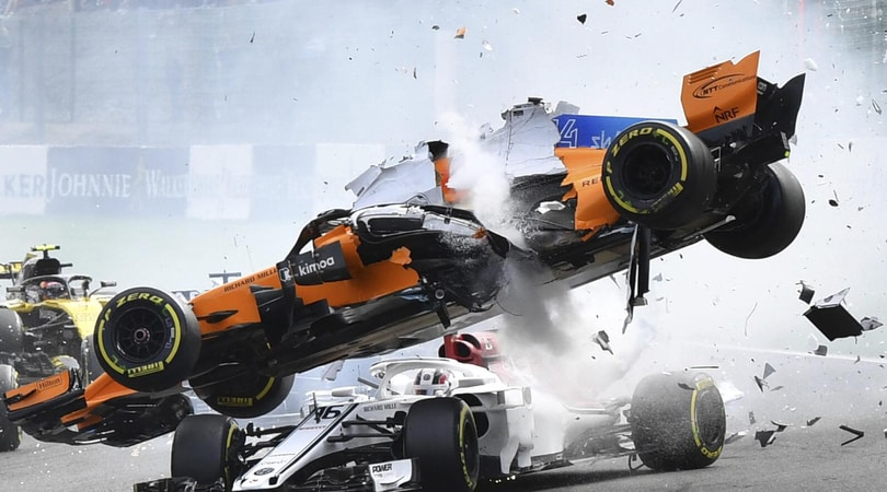 F1 Belgio, Leclerc: «L'halo probabilmente ha aiutato»