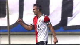 Heerenveen-Feyenoord, in gol anche Van Persie