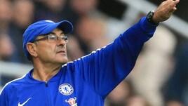 Sarri: «Chelsea candidato al titolo? Vedo prima Manchester City e Liverpool»