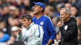Sarri e Zola battono Benitez: amarcord Napoli in Premier