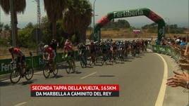 Vuelta, 2ª tappa - Vince Valverde, Kwiatkowski nuovo leader