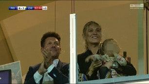 Il Cholo Simeone applaude la Fiorentina