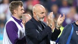 Serie A Fiorentina, Pioli: «Felice non solo del risultato»