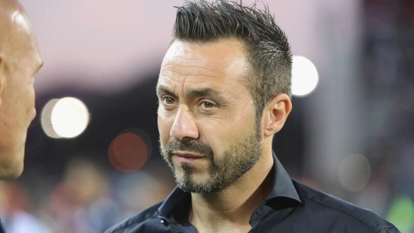 Serie A Sassuolo, De Zerbi: «Orgoglioso dei miei ragazzi»