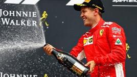 F1, Vettel vince in Belgio e si avvicina a Hamilton nelle quote
