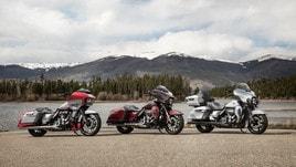 Harley-Davidson lancia tre nuove CVO