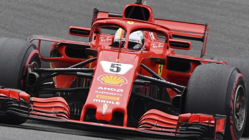 F1, la Ferrari ora ha più potenza della Mercedes