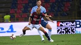 Serie A Bologna, defaticante per i titolari. Terapie per Palacio