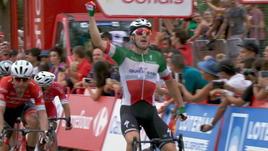 Vuelta, 3ª tappa - Trionfa Viviani in volata