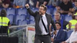 Roma, Di Francesco: «Al 45' ne avrei cambiati 7-8»