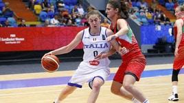 Nazionale femminile, l'Italia supera Israele